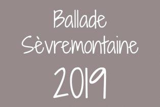 Ballade Sèvremontaine 2019