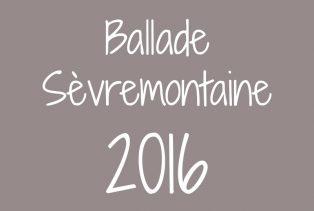 Ballade sèvremontaine 2016