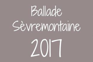 Ballade sèvremontaine 2017