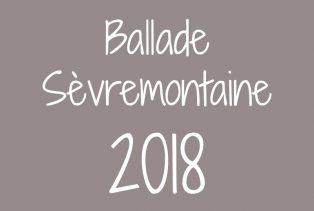 Ballade sèvremontaine 2018