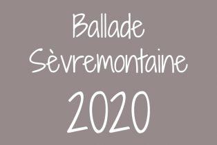 Ballade Sèvremontaine 2020