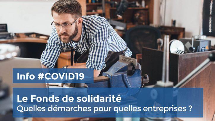 COVID 19 – FONDS DE SOLIDARITE