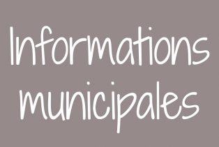 Informations municipales du 10 juillet 2020