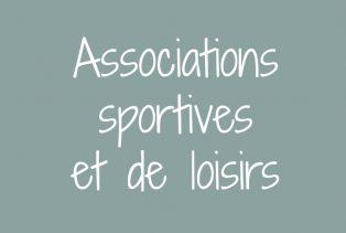 Associations sportives et de loisirs