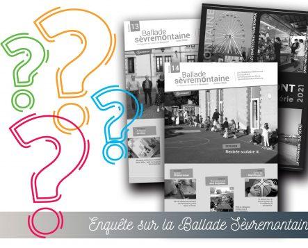 Enquête sur la «Ballade Sèvremontaine» – Support de communication papier de Sèvremont